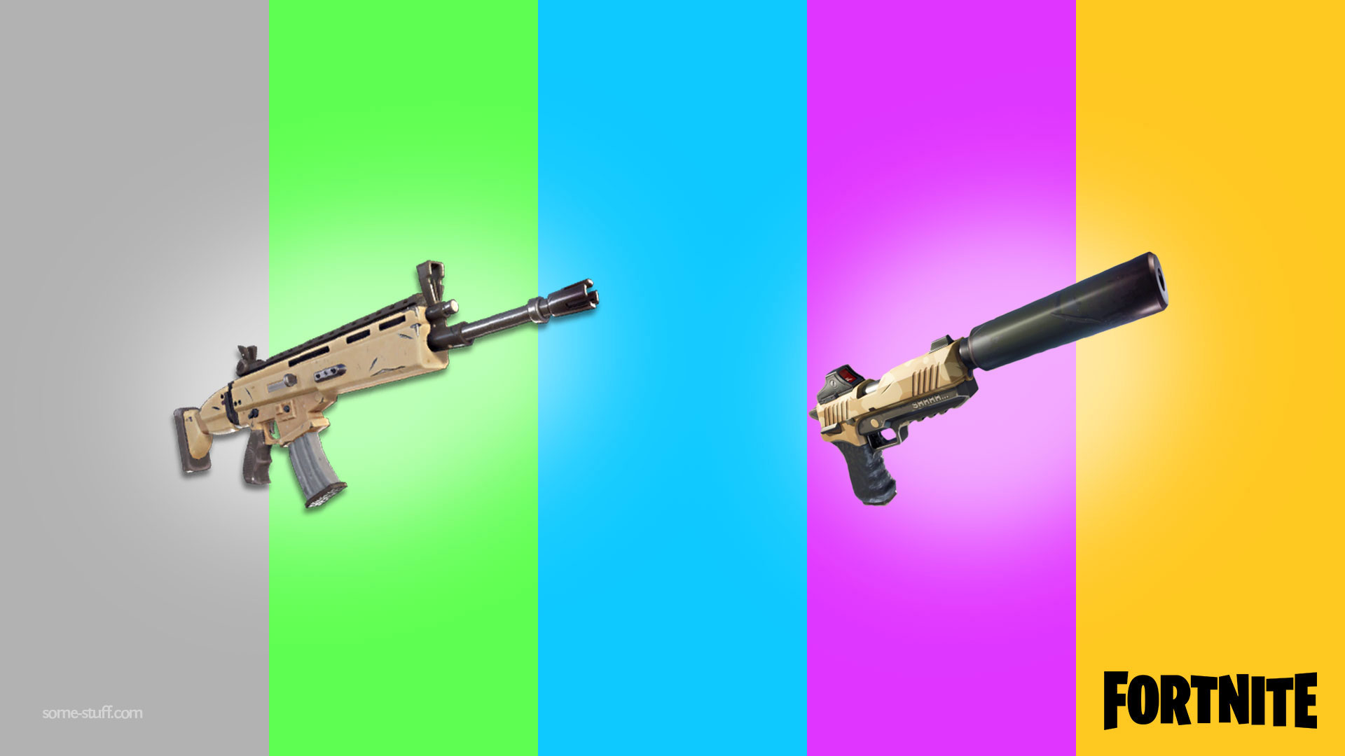 how to get a gun in fortnite