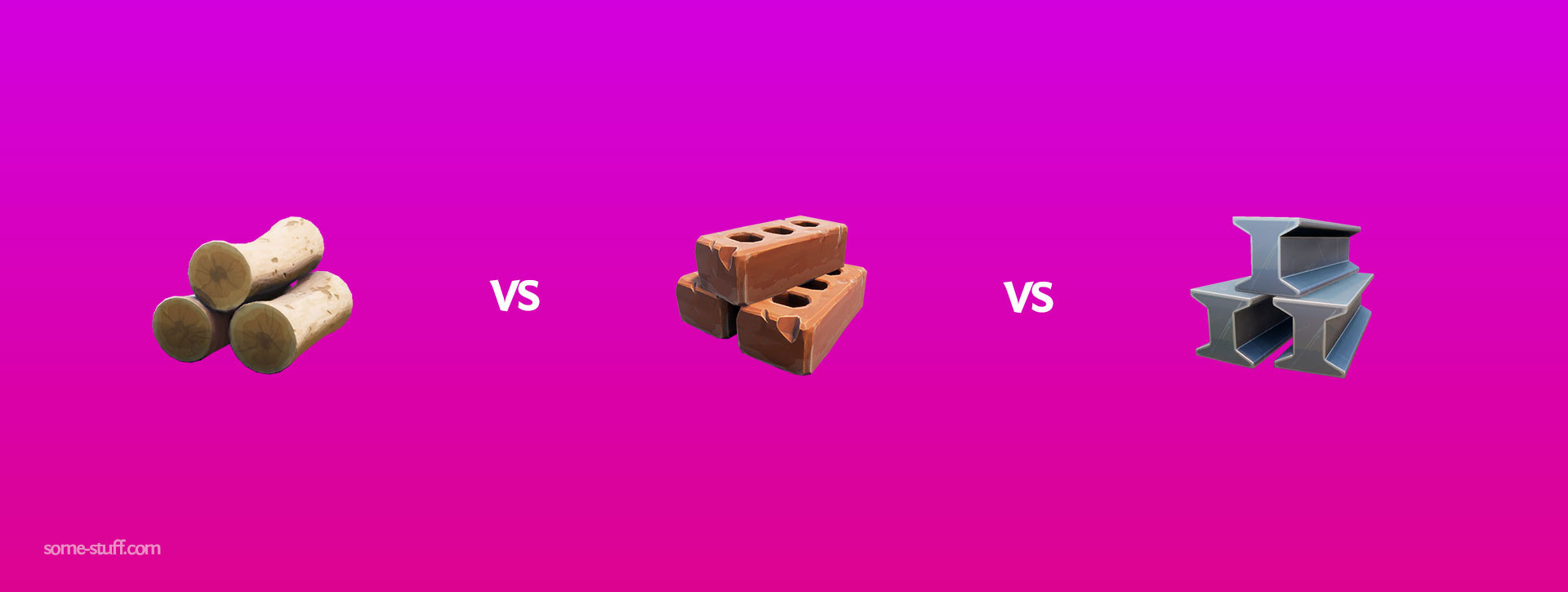 Wood vs Brick vs Metal