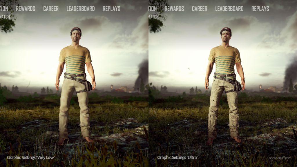 Graphics Settings Comparison