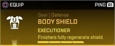 Legendary Body Shield Card